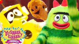 Yo Gabba Gabba! Family Fun - HAPPY YO GABBA GABBA SONGS | Kids Songs | DJ LANCE ROCK | BABY SONGS