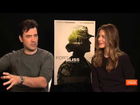 Fort Bliss Interview With Ron Livingston and Michelle Monaghan [HD]