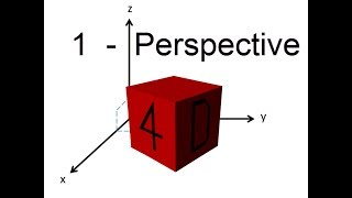 A Journey into the 4th Dimension - Perspective [Part 1]