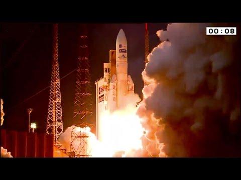 Ariane 5 Flight VA224 launched MSG-4 meteorological satellite