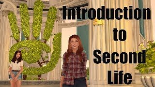 Intro to Second Life – Creating an Account & Moving Around