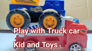 Play with super Truck car kid and Toys  2019