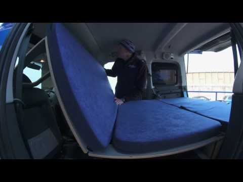 amdro boot jump camper car unit for Berlingo. Partner. Doblo. Caddy