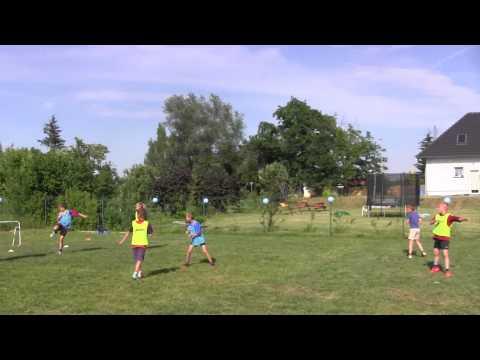 CZ9-Urodziny Szabełków-Na Kruszyn Arenie-14.06.15-Turniej-Gutek Cup-Niebiescy vs Zieloni-Finał I poł