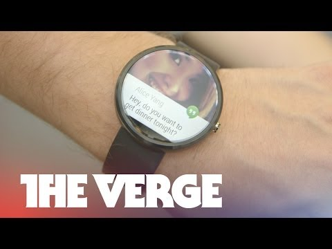 Motorola Moto 360 hands-on | Google I/O 2014