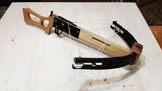 DIY PVC compound crossbow Part 3/3