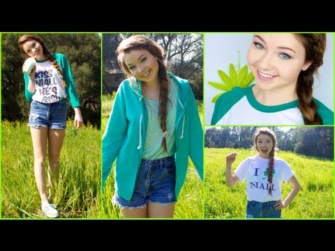 St.Patrick's Day Hair, Makeup, &amp; Outfit Ideas!