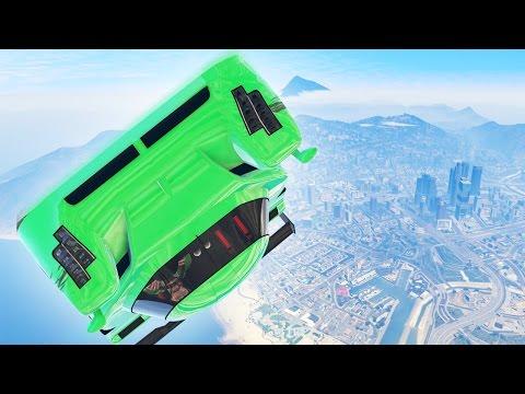 MILE HIGH 1080 TWISTS! (GTA 5 Funny Moments)