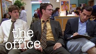Dwight Goes To The Hospital  - The Office US