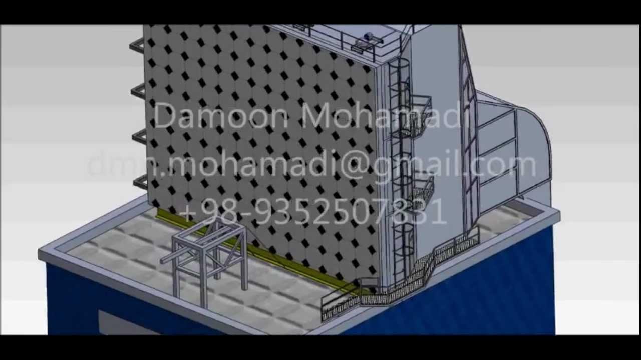 Gas Turbine Air Inlet Evaporative Cooler Youtube