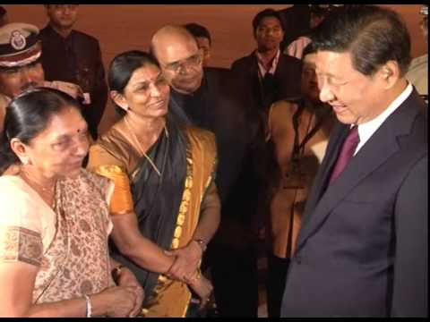 Chinese President Xi Jinping departure to Delhi