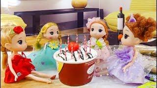 Sinh nhật lần thứ 10 của Chibi tím - B69 - Nữ hoàng búp bê baby doll