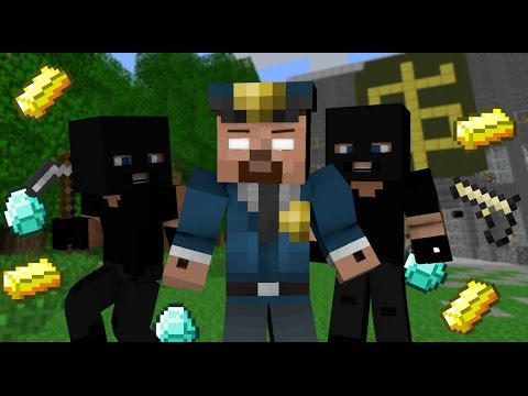 If Herobrine Was The Police - Minecraft