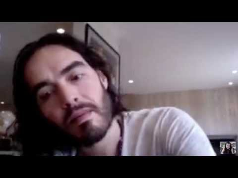 Russell Brand LIVE on Skype