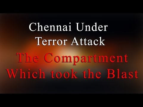 The compartment which took the blast- Bomb Blast at Chennai Central Railway Station - Redpix24x7