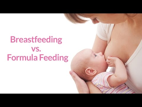 Breastfeeding vs. Formula Feeding