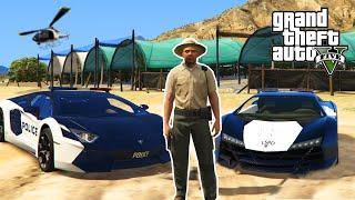 GTA 5 PC Mods - PLAY AS A COP MOD! LAMBO POLICE CARS & ARRESTING PEOPLE! (GTA 5 Mods)