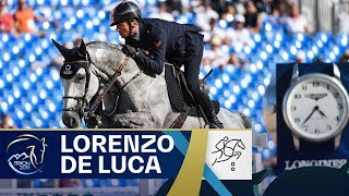 Lorenzo De Luca's Jumping round of dreams! | FEI World Equestrian Games 2018