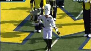 Michigan Marching Band Pregame