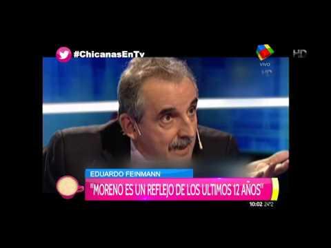 Feinmann pidió que Guillermo Moreno le pida disculpas