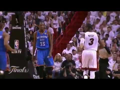 Kevin Durant Tells Dwyane Wade that He's too small