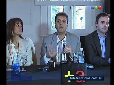 Massa de campaña por Bahía Blanca - Telefe Noticias