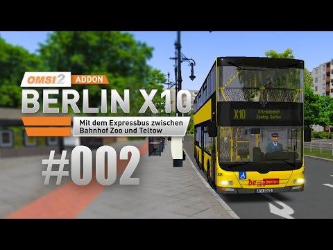 OMSI 2 Berlin X10-Addon #002 - Express-Linie X10