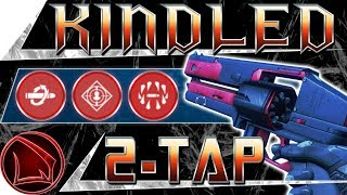 Destiny 2: Kindled Orchid God Roll 2-Tap Perk Review – Black Armory Hand Cannon PvP Gameplay