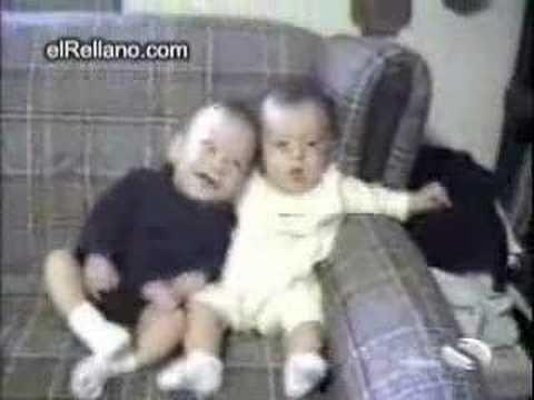 una de las risas mas contagiosas de los niños