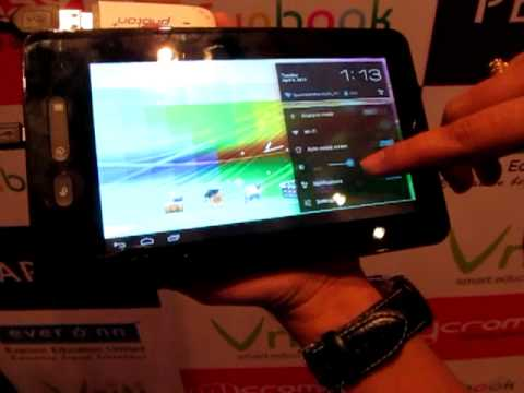 Micromax Funbook Android 4.0 Budget Tablet India Video Review
