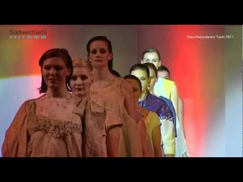 Modeshow der Modeschule Stuttgart - Zukunftskoferenz Textil 2011
