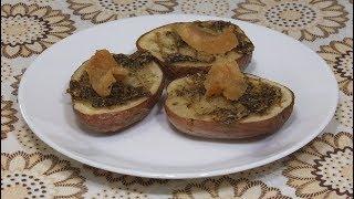 Как вкусно приготовить картошку в духовке без мяса – рецепт вкусной картошки з салом  mp4