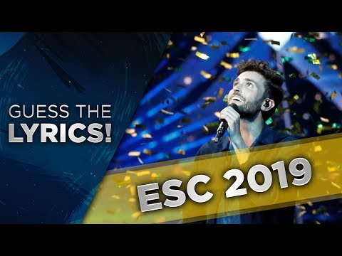 Eurovision 2019 | Guess the LYRICS
