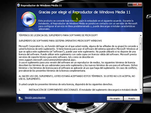 instalar windows media player 11 sin validar windows
