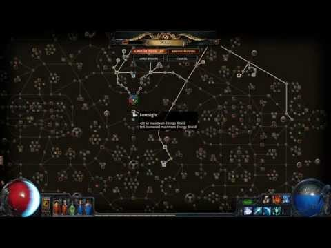 PATH OF EXILE 1.2.0 WITCH CRIT ICE SPEAR UPDATE BUILD LVL 64