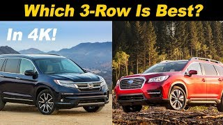 Honda Pilot vs Subaru Ascent -  Which Is Right For You?