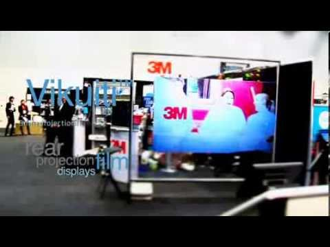 3M Vikuiti Display at Restaurant & Bar Show