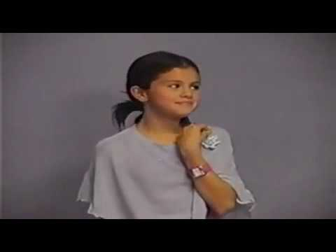 Selena Gomez - Audition Tape for Disney channel HQ