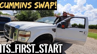2010 Ford F350- Cummins Swap 6.4L to 12 valve Cummins Part 6