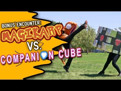 Magikarp VS. Companion Cube!  (Bonus Encounter)