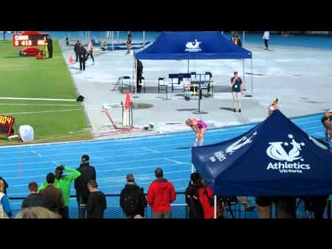 Sally Pearson 23.02  200M ( tw 1.0 ) Qantas Melbourne Track Classic 3/3/2012