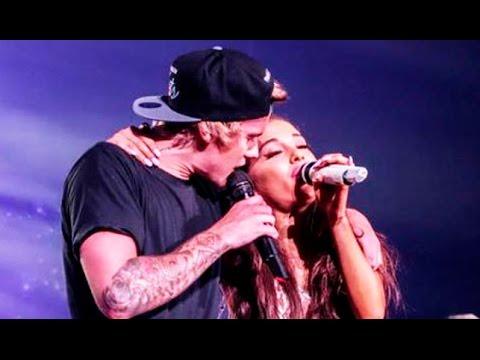 Justin Bieber Forgets Lyrics In Ariana Grande Duet video