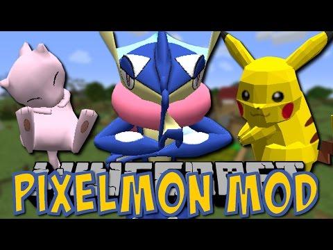 Minecraft PIXELMON MOD (Pokemon in Minecraft) [5.0.3/Tutorial/Deutsch]