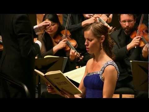 Haydn - The Seasons aria 'Welche Labung für die Seele (LCA and Ida Falk Winland, soprano): Video Clip