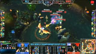 Video clip [CKTG2014]  Shook vs Najin White Shield [27.09.2014]
