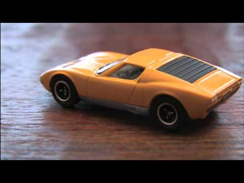 CGR Garage - LAMBORGHINI MIURA P400 S Matchbox Car review