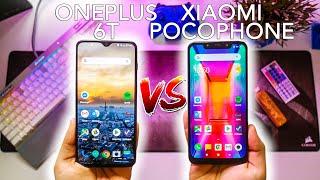 OnePlus 6T VS Pocophone F1 po 6 miesiącach | Który warto kupić? Porównanie modeli i ich różnic