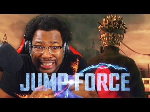 THIS GAME ISN'T REAL! Jump Force OFFICIAL Trailer LIVE REACTION