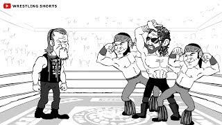 Chris Jericho vs Kenny Omega Wrestle Kingdom 12 Cartoon Parody