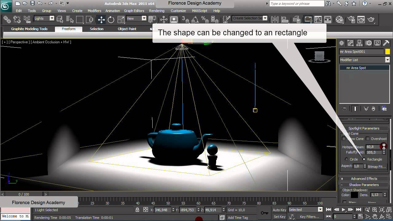 3ds Max Lighting Tutorial Youtube